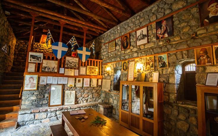 Αποτέλεσμα εικόνας για Το σπίτι που γεννήθηκε ο Κολοκοτρώνης