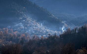 Ένα χωριό, αριστούργημα της φύσης και της παράδοσης στην Ευρυτανία