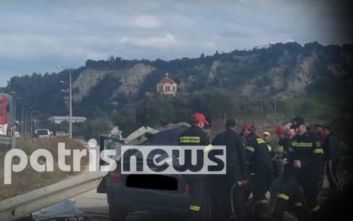Τραγωδία στην Πατρών – Πύργου: Την Τετάρτη η κηδεία των δύο εκπαιδευτικών και κλείσιμο της Εθνικής Οδού