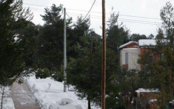 Κακοκαιρία Ηφαιστίων: Δύσκολη νύχτα για τους κατοίκους της Εύβοιας: