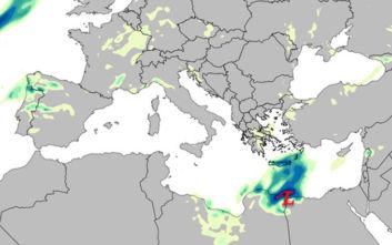 Καιρός: Νοτιότερη η τροχιά του αφρικανικού χαμηλού, δείτε χάρτες