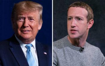 Τραμπ: Ο Μαρκ Ζάκερμπεργκ μου είπε ότι είμαι Νο1 στο Facebook
