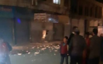 Σεισμός στην Τουρκία: Ζημιές και στη Συρία - Βίντεο από τη στιγμή της δόνησης
