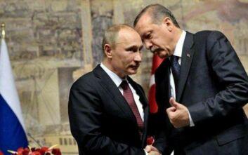 Ερντογάν σε Πούτιν: Απαραίτητος ο έλεγχος των συριακών δυνάμεων στο Ιντλίμπ