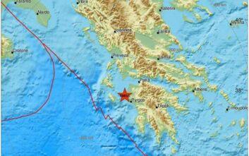 Σεισμός τώρα κοντά στον Πύργο Ηλείας - Έγινε αισθητός και στην Αθήνα