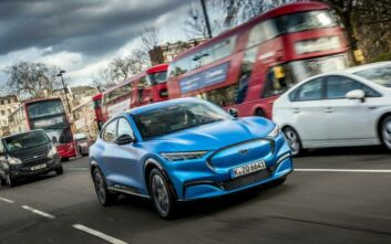 H ηλεκτρική Mustang Mach-Ε στην Ευρώπη