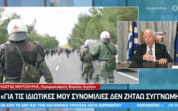 Μουτζούρης: Θέλουμε να μείνουν τα νησιά μας ελληνικά - Δεν κάνουμε επανάσταση κατά της κυβέρνησης