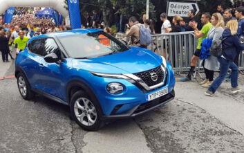Το νέο Nissan «έτρεξε» Juke στον Λυκαβηττό