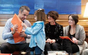 Η υπόσχεση του Κυριάκου Μητσοτάκη στα παιδιά δίνουν μάχη με τον καρκίνο