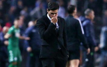 «Τελείωσαν» τον Φερέιρα οι παίκτες του ΠΑΟΚ