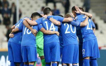 Nations League: Η Ελλάδα κληρώθηκε με Σλοβενία, Κόσοβο, Μολδαβία