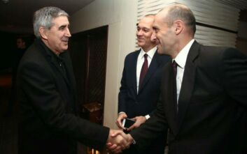 Συνάντηση Αγγελόπουλων με Μπερτομέου στην Αθήνα
