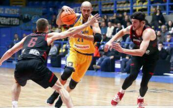 Basketball Champions League: Ήττα από Νίμπουρκ και 4η θέση για Περιστέρι