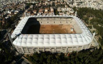 Οπαδοί της ΑΕΚ μπήκαν στο νέο γήπεδο και έφτιαξαν ατμόσφαιρα ντέρμπι