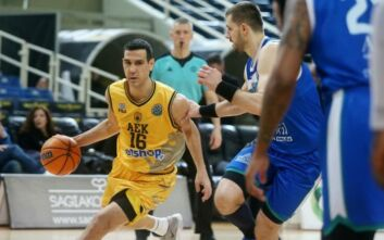 Basketball Champions League: Νίκη και 2η θέση για την ΑΕΚ
