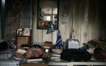 Απομακρύνθηκε ηλικιωμένη από τη φωτιά σε μονοκατοικία στον Υμηττό