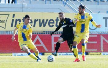 Super League 1: Κόλλησε στην Τρίπολη ο Άρης, 1-1 με τον Αστέρα