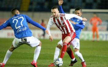 Αγχωτική νίκη ο Ολυμπιακός, 1-0 τον Ατρόμητο στο Περιστέρι