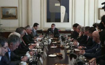 Η μεταφορά είσπραξης του ΕΝΦΙΑ στους δήμους στη συνάντηση Μητσοτάκη - ΚΕΔΕ