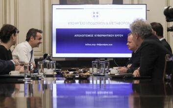 Κυριάκος Μητσοτάκης και υπουργείο Υποδομών δρομολόγησαν σημαντικά έργα για το 2020
