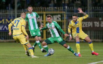 Ισοπαλία για τον Παναθηναϊκό στην Τρίπολη, 1-1 με τον Αστέρα
