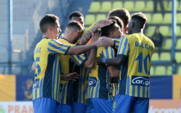 Super League 1: Προς υποβιβασμό ο Πανιώνιος μετά την ήττα στο Αγρίνιο
