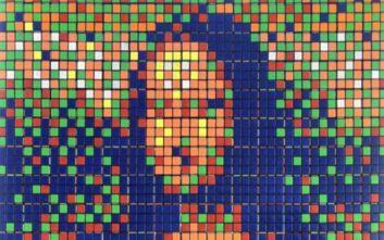 Στο «σφυρί» η Μόνα Λίζα με τούβλα σε σχήμα κύβου του Ρούμπικ