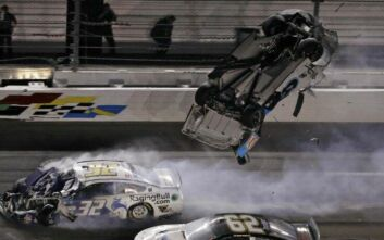 Τρομακτικό ατύχημα για τον οδηγό αγώνων Ryan Newman στο Daytona 500