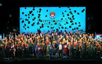 Mediterranean College: 40η Τελετή Αποφοίτησης