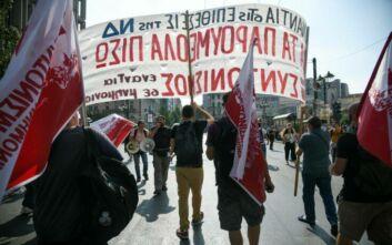 Σκληρή κυβερνητική επίθεση κατά της απεργίας για το ασφαλιστικό