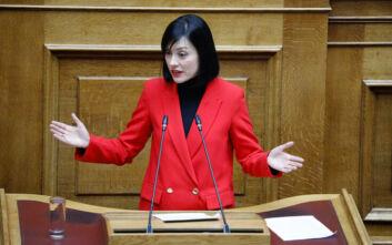 Για πολιτικό φλερτ με τη ΝΔ κατηγορούν τη Νάντια Γιαννακοπούλου συνεργάτες της Φώφης Γεννηματά