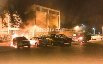Φωτιά τα ξημερώματα σε τρία οχήματα της 16ης Εφορείας Αρχαιοτήτων στη Θεσσαλονίκη