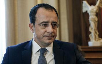 Ουσιαστική συνδρομή ΗΠΑ για τερματισμό παράνομων ενεργειών Τουρκίας ζήτησε ο Χριστοδουλίδης