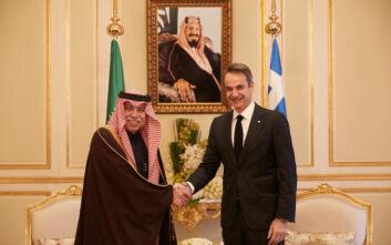 Ενδιαφέρον από Σαουδάραβες για ιχθυοκαλλιέργειες, τουρισμό και real estate