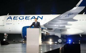 Μητσοτάκης για Aegean: Η κυβέρνηση στηρίζει κάθε τολμηρή επιχειρηματική πρωτοβουλία