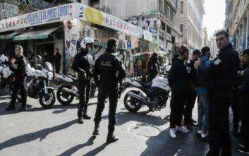Αστυνομική επιχείρηση στη Μενάνδρου