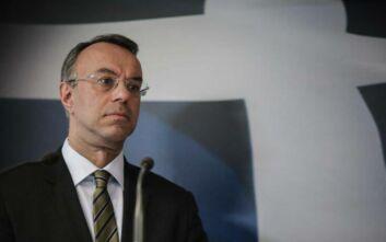Σταϊκούρας: Περιορισμός ύφεσης 5 με 8% - Μείωση του ΦΠΑ και της προκαταβολής φόρου για ορισμένο χρόνο