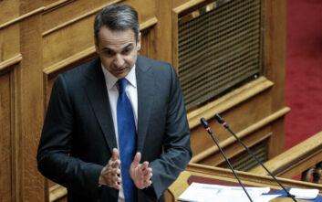 Κυριάκος Μητσοτάκης στη Βουλή: Κοινωνία και οικονομία ευημερούν όταν ιδρύονται επιχειρήσεις