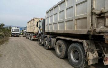 Προσφυγικό: Ξεκίνησε ο αποκλεισμός περιοχής προς επίταξη στη Δυτική Λέσβο