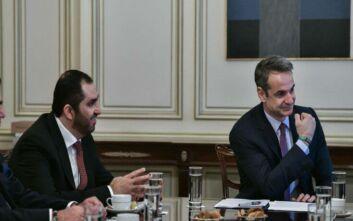 Κυριάκος Μητσοτάκης: Η Ελλάδα είναι ανοιχτή σε επενδύσεις