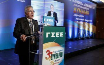 Παναγόπουλος: Μείζον θέμα η εξυγίανση και η διαφάνεια στο συνδικαλιστικό κίνημα
