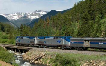 Ταξίδι με τρένο από το ένα στο άλλο άκρο των ΗΠΑ
