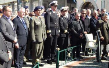 Τελετή μνήμης στην Κάλυμνο για τους πεσόντες αξιωματικούς στα Ιμία