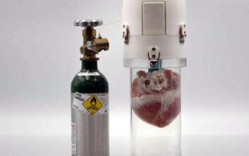Αυτή η συσκευή θα κρατά ζωντανές τις καρδιές για μεταμόσχευση ακόμα και για 24 ώρες