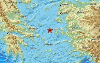 Σεισμός τώρα κοντά στη Χίο
