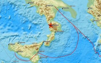 Σεισμός τώρα στη νότια Ιταλία