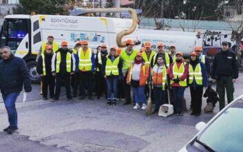 Νέα επιχείρηση καθαριότητας από το Δήμο Αθηναίων σε Γουδή και Αμπελόκηπους