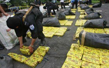 Κατάσχεση-ρεκόρ κοκαΐνης: 5 τόνοι κρυμμένοι σε διακοσμητικά λουλούδια
