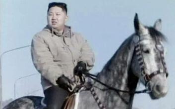 Καθαρόαιμα άλογα από τη Ρωσία αποκλειστικά για να κάνει ιππασία ο Κιμ Γιονγκ Ουν εισάγει η Βόρεια Κορέα