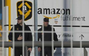 Τα κεντρικά γραφεία της Amazon στη Μαδρίτη εκκενώθηκαν μετά από απειλή για βόμβα